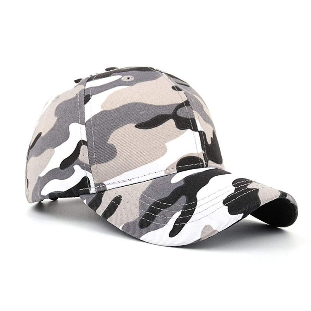 f9147293e02 UJUNAOR Women Men Casual Tactical Outdoor Camouflage Sports Cap Baseball  Cap Hat