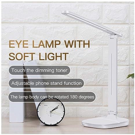 Lámpara LED de Lámpara mesa escritorio de inteligente wkN8nO0PX