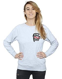 Absolute Cult Supernatural Damen Clip Your Wings Sweatshirt