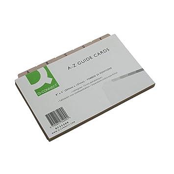 Amazon.com: Agenda salón conceptos A-Z guía tarjetas: Beauty