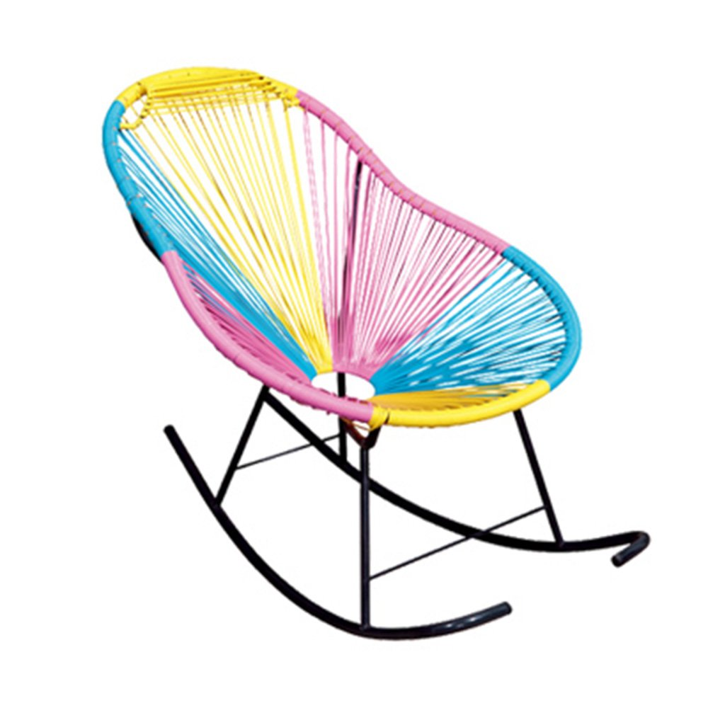 ZXQZ Rocking Chair Adult Lounge Chair Napping Wicker Chair Chairs for The Elderly Lazy Chair (Size : 72*80*100CM) XuanChenjiagongchang