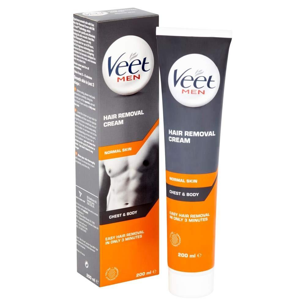 Veet Men Hair Removal Cream For Chest & Body 200ml