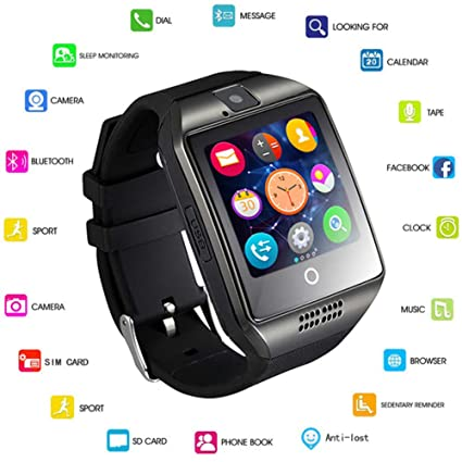 Amazon.com: IWATCH Passometer Smart Watch with Touch Screen ...