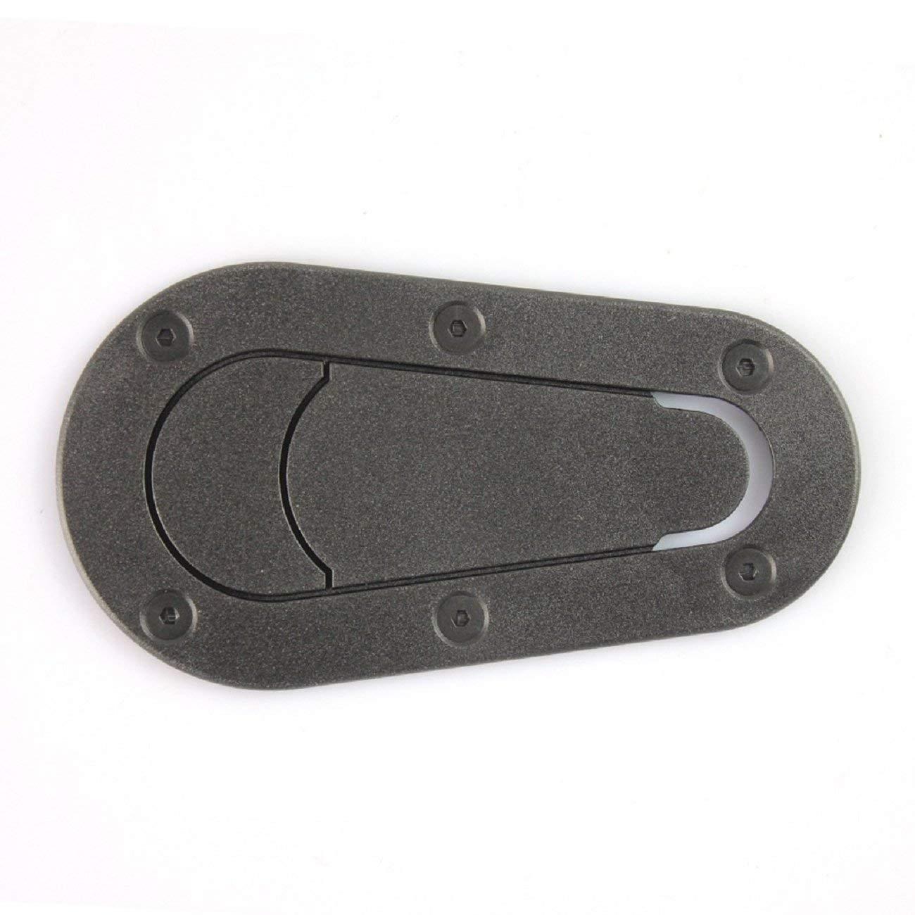 Putars Car Exterior Accessories Engine Sticker Auto Parts General Car Waterproof Protection(Matte Black Black Carbon) Auto Adhesive Trim Machine Cover Lock Engine Trim Sticker