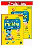 J'apprends les maths avec Picbille CP - 2 volumes