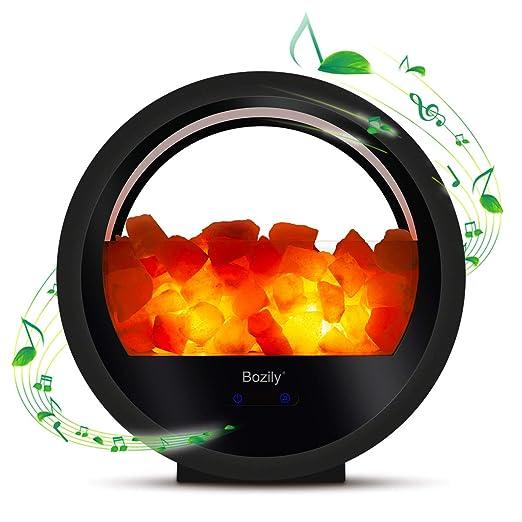 Amazon.com: Bozily Himalayan - Lámpara de sal de noche con ...