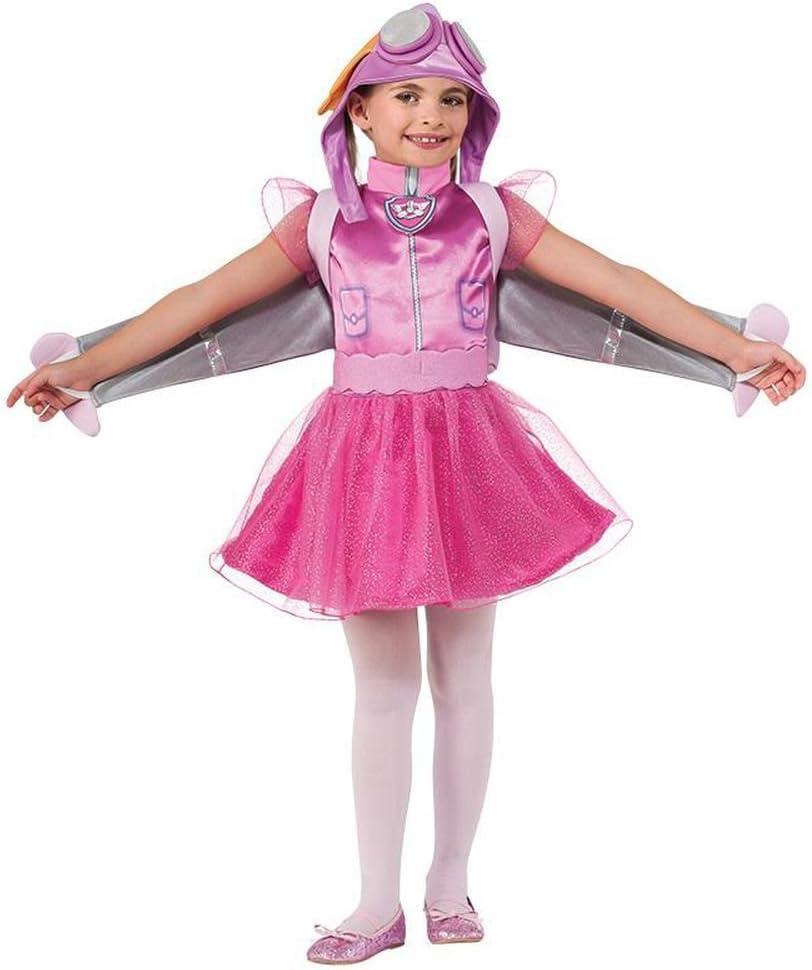 Disfraz de Skye Patrulla Canina para niña S-(3/4A): Amazon.es ...
