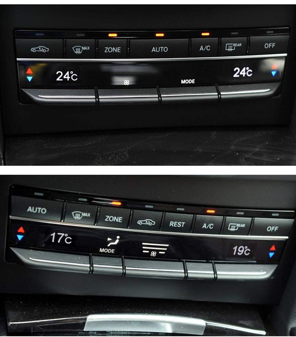 HERCHR Mercedes-Benz W212 Bot/ón de aire acondicionado recorte E-class E300 E260 Panel de aire acondicionado Panel de Panel de Panel B4