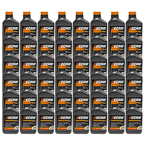 48PK Echo Oil 6.4 oz Bottles 2 Cycle Mix for 2.5 Gallon - Power Blend 6450025