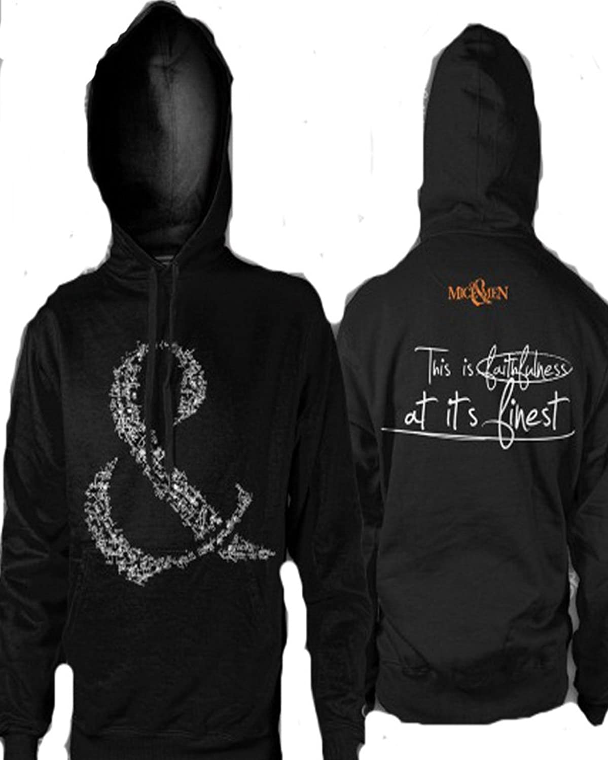 Amazon.com: Of Mice And Men - Faithfullness Hoodie Sweatshirt ...