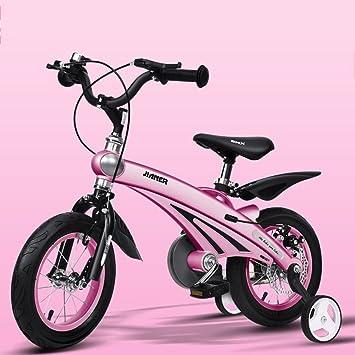 Bicicletas YANFEI niños magnesio de aleación de aluminio adecuado para niños de 2 a 11 años - triciclo de 12/14/16 pulgadas Regalo para niños: Amazon.es: ...