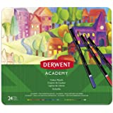 DERWENT(R) 2301938 COLOURED PENCILS, PK 24 TIN