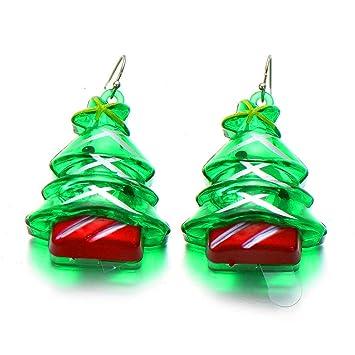 Amerikanische Weihnachtsbeleuchtung.Gm Earring Europäische Und Amerikanische Ohrringe