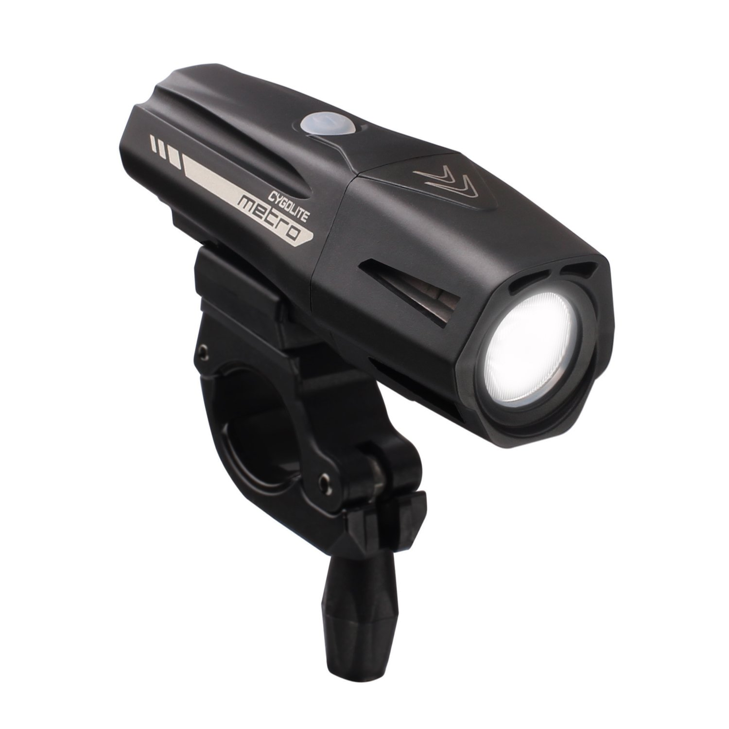 Cygolite Metro Pro 1100 USB Rechargeable Bike Light, Black