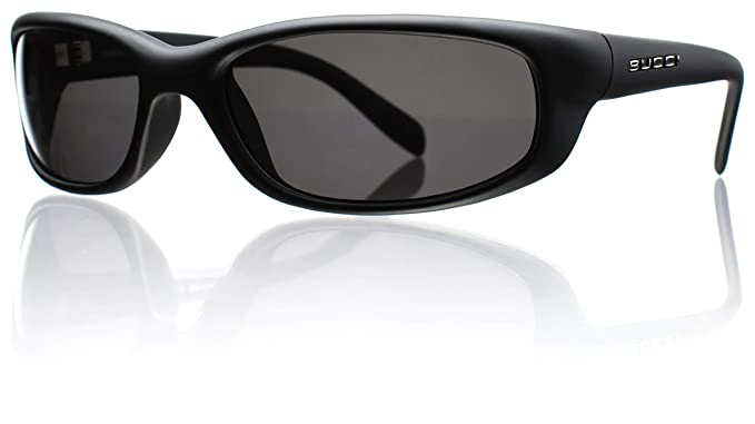 Bucci Sunglasses Barracuda Black Matte Polycarbonate Polarized