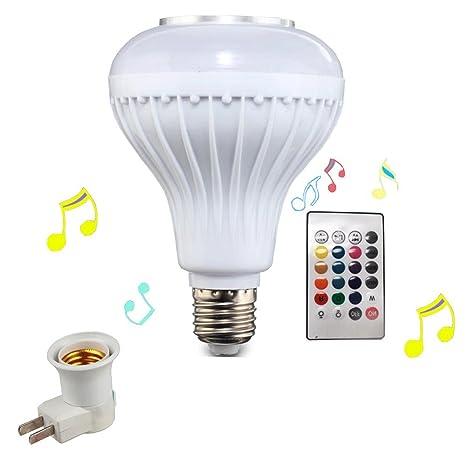 Bluetooth música bombilla, bombilla LED, casa KTV, farol, altavoz, Etapa lámpara