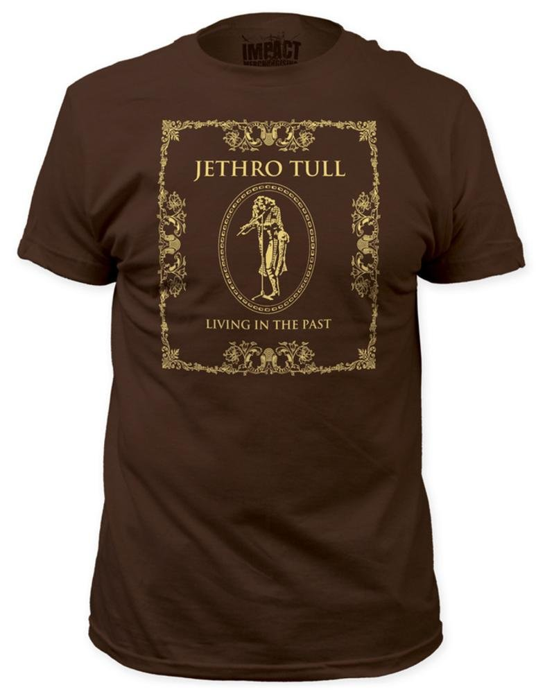 Jethro Tull - Living In The Past Mens T-Shirt In Dark Chocolate, Size: X-Large, Color: Dark Chocolate