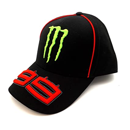Amazon.com : Jorge Lorenzo 99 Moto GP Monster Energy Baseball Cap Official 2017 : Sports & Outdoors