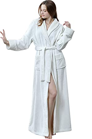 Velours Polaire Homme Bienbien De Femme Chambre Robe Peignoir AL34j5R