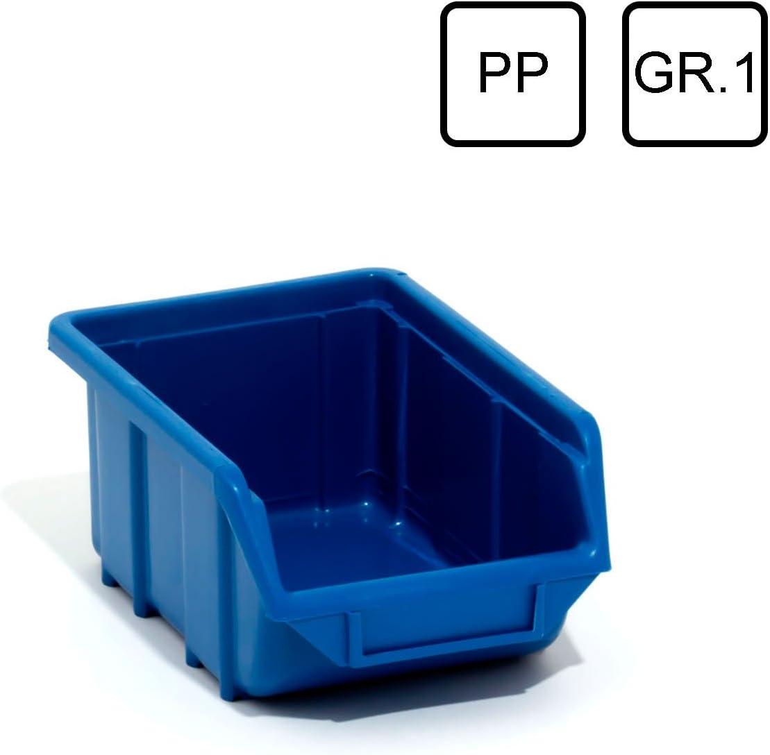 Plastic Storage Boxes Plastic PP Storage Box ECOMALNIEPG001 Blue Patrol Group Storage Box