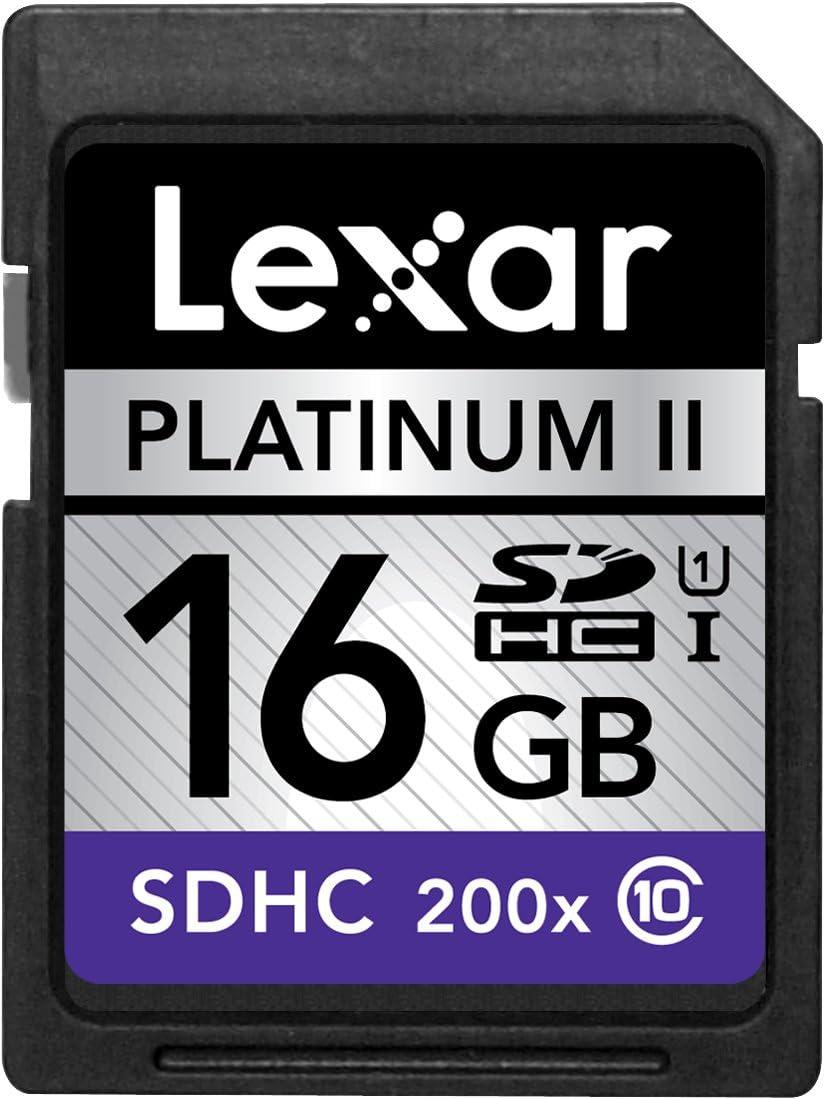 Lexar Platinum II 200x 32GB SDHC UHS-I Flash Memory Card LSD32GBBNL200