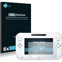 savvies Protector Pantalla Compatible con Nintendo Wii U