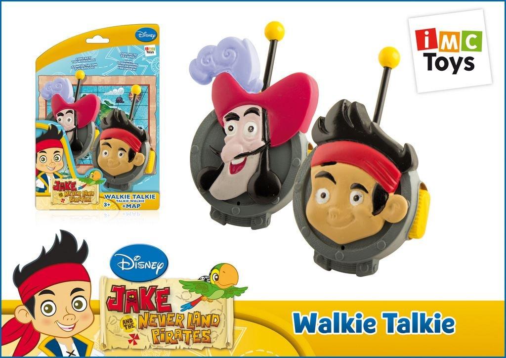 Amazon.com: IMC Toys Jake Never Land Pirates Walkie Talkie #260221: Toys & Games