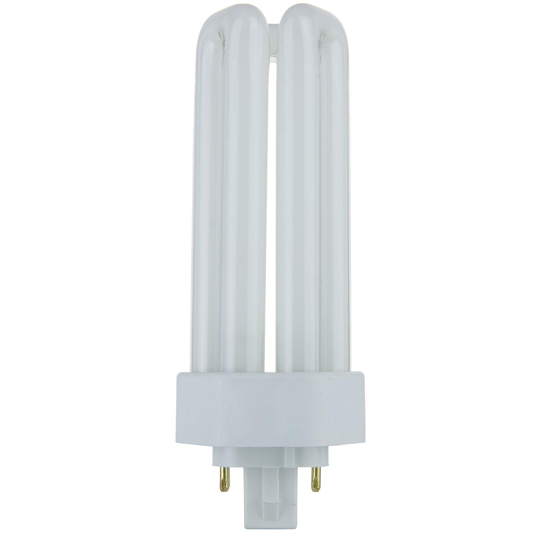 Sunlite plt26esp27k 26 watt compact fluorescent plug in 4 pin sunlite plt26esp27k 26 watt compact fluorescent plug in 4 pin light bulb 2700k color amazon arubaitofo Choice Image