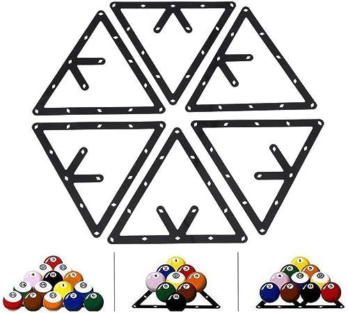 VGEBY - Soporte Triangular para Bolas de Billar, Billar Triángulo ...