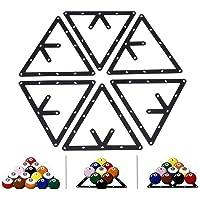 VGEBY - Soporte Triangular para Bolas de Billar