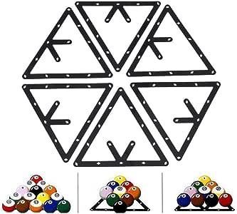 VGEBY - Soporte Triangular para Bolas de Billar, 6 Unidades ...