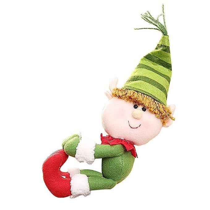 Günstige Christbaumkugeln.Selou Weihnachtsweinflaschenverschluss Kleidung Santa Claus