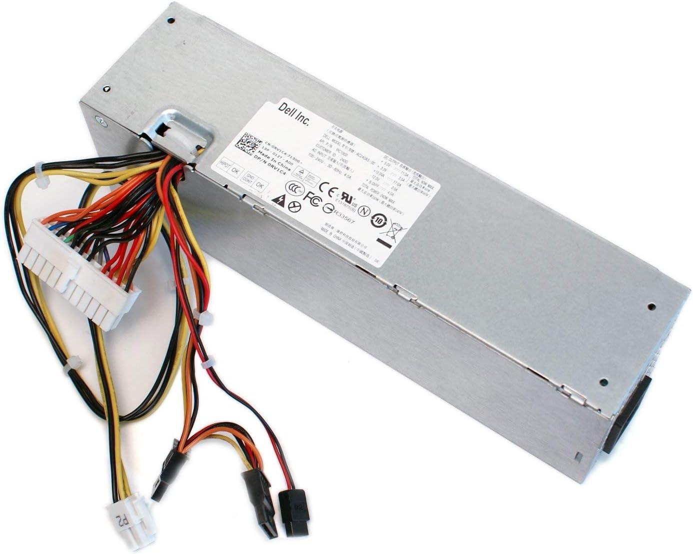 Genuine Dell 240w Power Supply PSU fit Dell Optiplex 390 790 990 3010 7010 9010 SFF model 2TXYM, RV1C4, 3WN11, J50TW, CV7D3, GFHY9, 709MT, F79TD, PH3C2, J50TW, T5VF6, VMRD2 (Renewed)