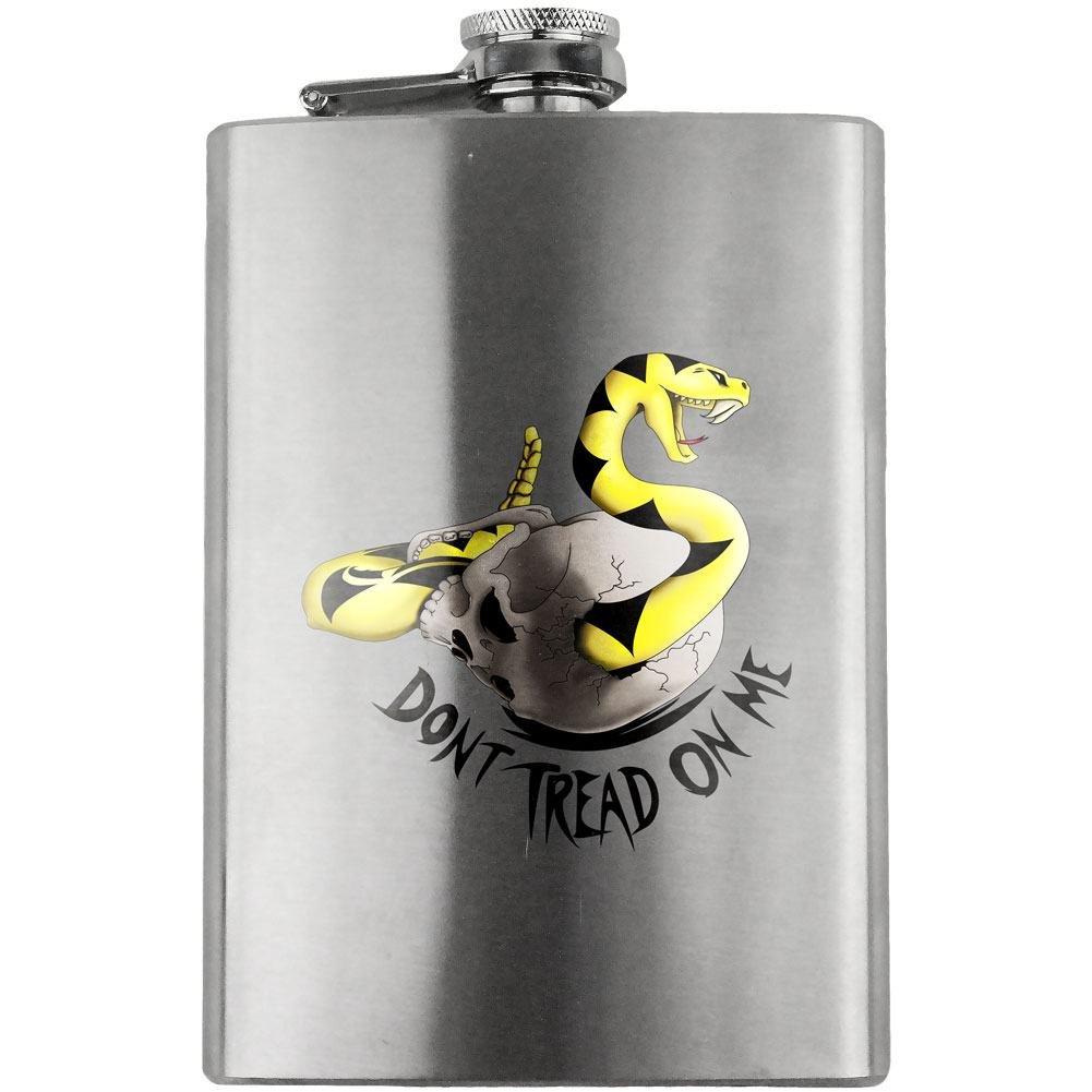 2019特集 Don't Tread on Me Molon B011ALUKRK Labe Skull 240ml Tread on Flask B011ALUKRK, キッチンライフ ando:5126acb6 --- west-llc.com