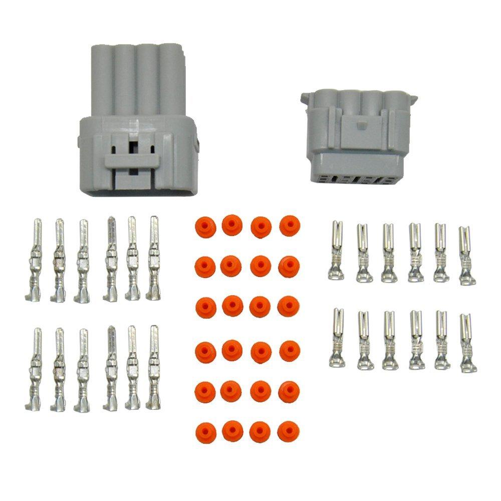 E-TING 1 Set 12 Pin way 2.2mm Waterproof Car ATV Electrical Wire Connector Plug SKU20903