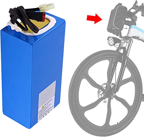 Aceshin The 36V 8AH Lithium Battery for 26 Electric Bike Blue