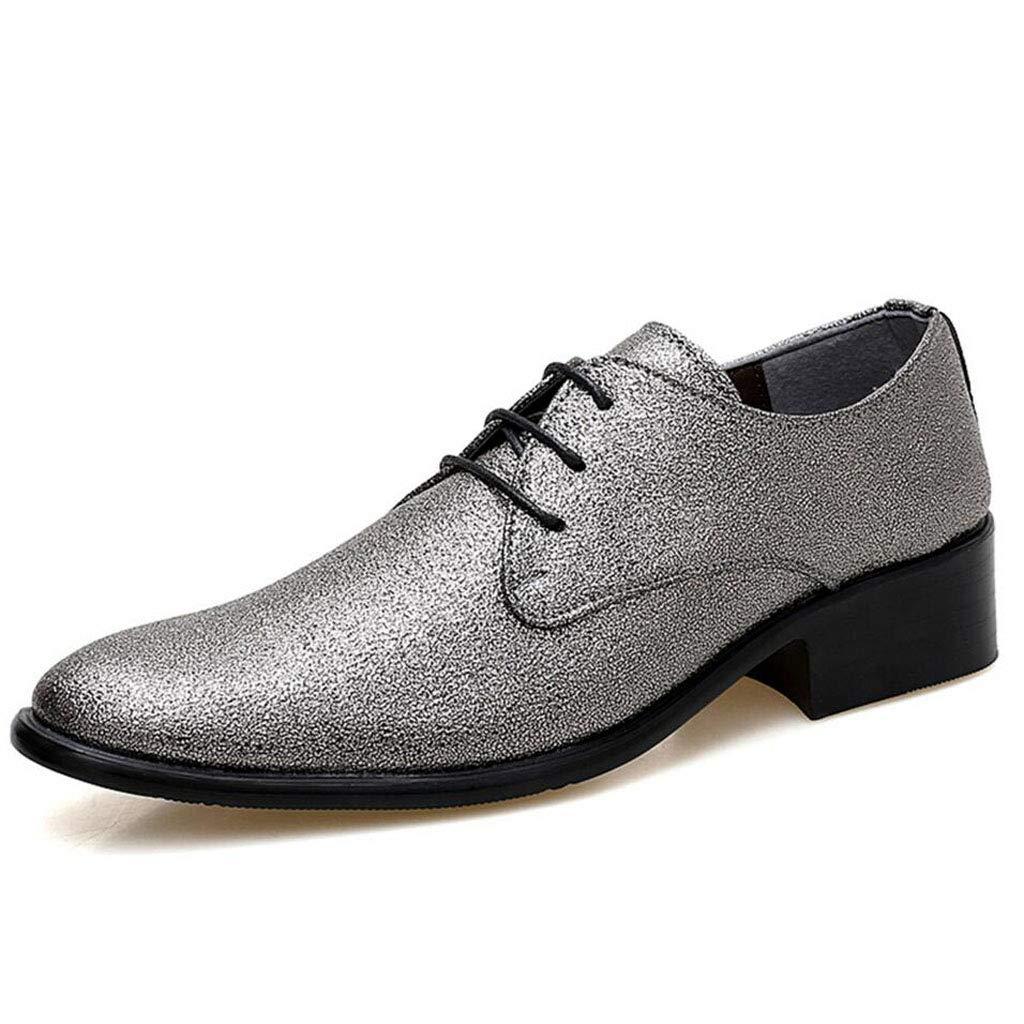 XxoSchuhe Herren Leder Kleid Oxford Schuhe Brogue Wing-Tip Lace Up Modern Geschäft Schuhe