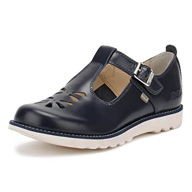 9304129a Kickers Women's Kick T Suma, Leather, Af Dk Blue Mary Jane: Amazon.co.uk:  Shoes & Bags