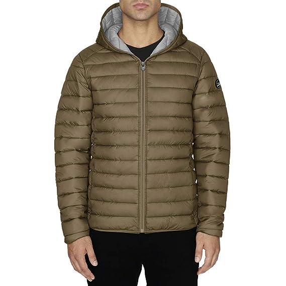 af64d41a5c4db Doudoune Homme TWIG Ultralight Jacket 100gr Manteaux Ultra légère Duvet  Capuche Taupe M