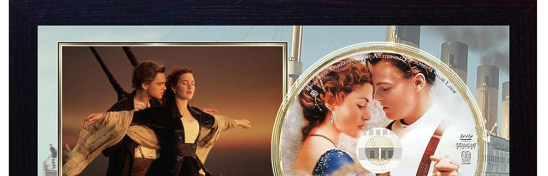 SGH SERVICES Titanic Leonardo Dicaprio Kate Winslet Movie Foto incorniciata CD Disc