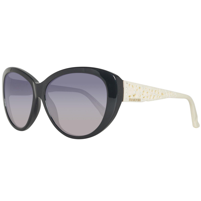 Nero Schwarz Swarovski Sunglasses Sk0053 05B-61-15-135 Occhiali da Sole 61 Donna