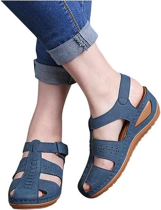 Comfortable Wedge Sandals Cut