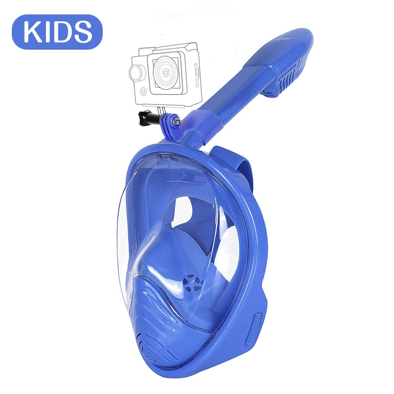 Unigear Masque de Plongée, Masque Snorkeling Plein Visage 180° Visible,  Antibuée Anti- 953d47f9ffe