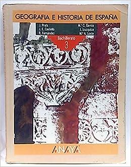 Geografía e historia de España, 3 BUP: Amazon.es: Prats Cuevas, Joaquín; Castelló, J. E.; Fernández, R.; Izuzquiza, I.: Libros