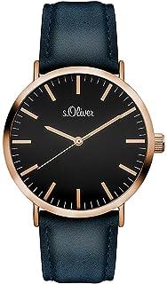 Armbanduhr S Unisex 3103 Quarz So Lq Analog Leder oliver PkuZiX