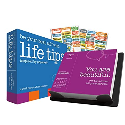 Amazon Com Life Tips 2019 Inspirational Daily Affirmations