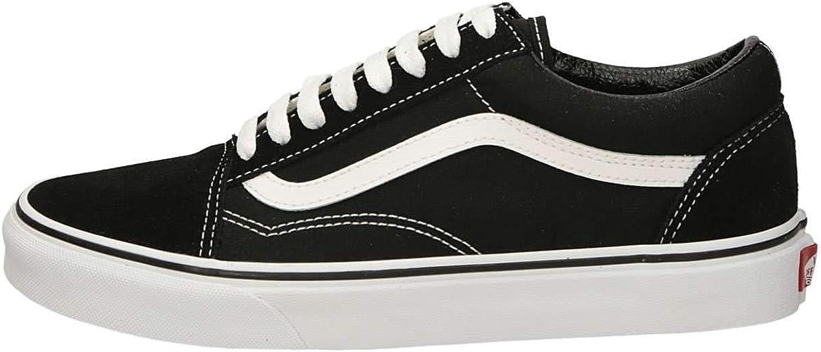 Vans VN00D3HY281 Sneakers Basse Uomo Nero 45: Amazon.it
