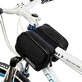 Tofern Fahrrad Radfahren Rahmentasche Steuerrohr Tasche Beutel Satteltasche - 1.5L, 8 Farben