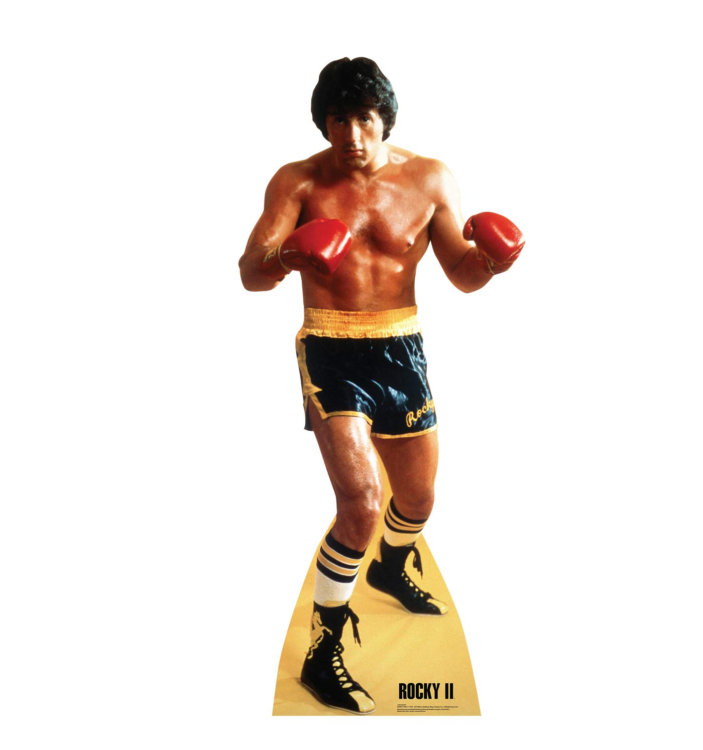 Advanced Graphics Rocky Life Size Cardboard Cutout Standup - Rocky II (1979 Film)
