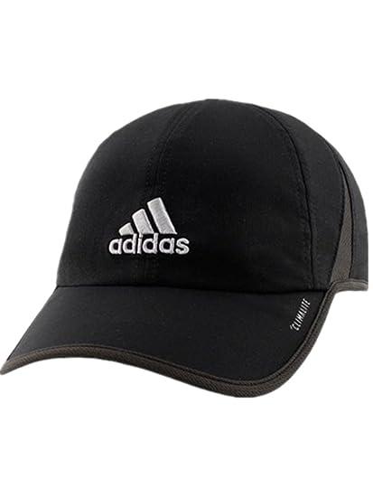 Amazon.com  adidas Men s Fit Climalite UPF 50 Cap Hat (Black Grey ... b380a98051da
